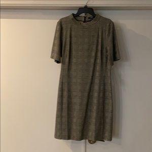 NWT. Chaps plaid dress
